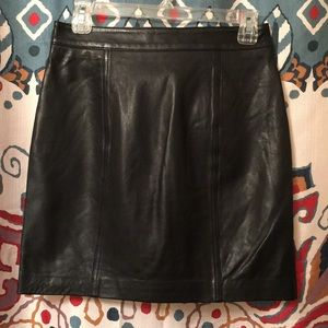 a367777bfc Lucky Brand Skirts - Lucky Brand REAL Leather Moto Skirt